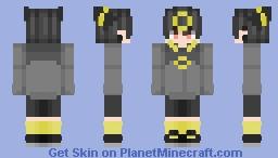 Umbreon - Pokemon (Human Male ver) Minecraft Skin