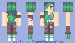Forest Adventurer Minecraft Skin