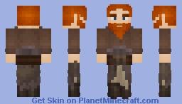 Dwarf Monk (LOTC) Minecraft Skin