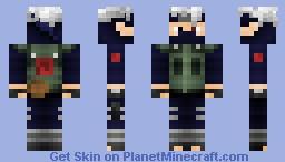Naruto Series   Kakashi Hatake Minecraft Skin