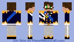 Vittorio Emanuele II di Savoia Minecraft Skin