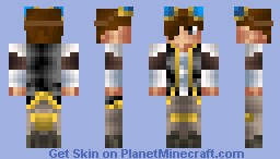 Steampunk captain (Share this skin to help it get on PopReel!) Minecraft Skin