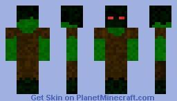 Tree-Creature Minecraft Skin