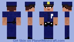 policia Minecraft Skin