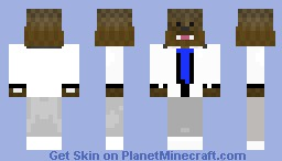 White Suit AsfJerome Minecraft Skin