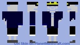 Mr.Bone Minecraft Skin