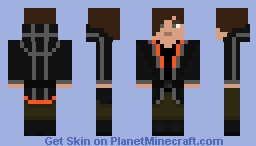 The Hunger Games Arena Wear: District 12 Minecraft Skin