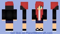 Hoodie Girl! ~ Ⓑⓤⓣⓣⓔⓡⓒⓡⓤⓜⓑⓛⓔ Minecraft Skin