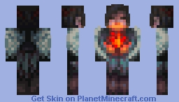 soulfire Minecraft Skin