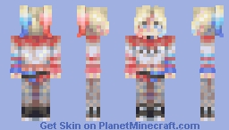who is SHE Minecraft Skin