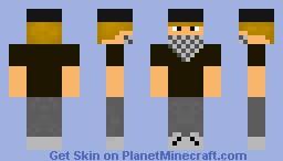 Guy with bandana Minecraft Skin