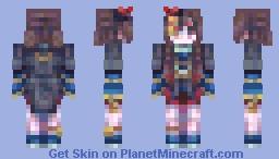 jiangshi cute collab Minecraft Skin