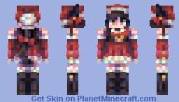 secret santa nyan nyan Minecraft Skin