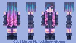 echo Minecraft Skin