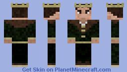 Medieval King Minecraft Skin