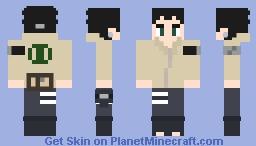 Shikadai V2 Minecraft Skin