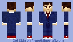Doctor Who (10th Doctor) Minecraft Skin