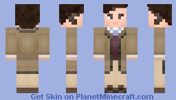 Pet Show Owner-Michael Palin Minecraft Skin