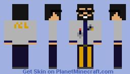 Doctor Logan Plum Minecraft Skin