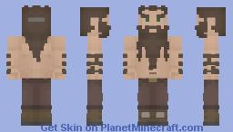 [LotC] Hairy Dwarf Minecraft Skin