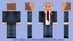 Gennady Zyuganov Minecraft Skin