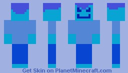 Blue Guy  (for wyvern314's challenge) Minecraft
