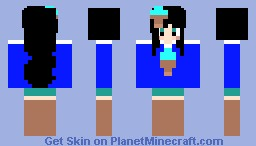~CupCake~ Sweet Treats Girl Minecraft Skin