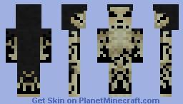 Gravelord Nito Minecraft Skin