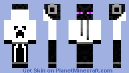 Bad man end Minecraft Skin