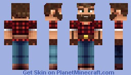 Lumber Jack Minecraft Skin