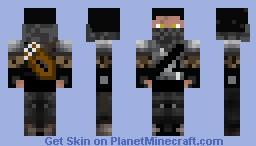 Shadow warrior Minecraft Skin
