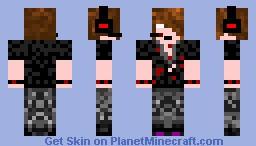 Herobrine Possessed Deadlox Minecraft Skin