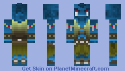 Troll of The Frostmane (Arcitic Skin Contest) Minecraft Skin