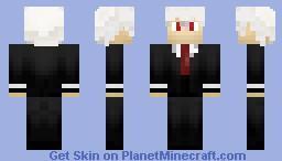 "Soul ""Eater"" Evans [Soul Eater] Minecraft Skin"