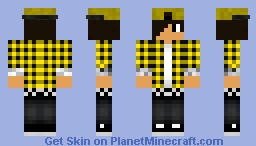 Cool Teenager With an awesome Cap Minecraft Skin