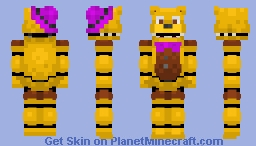 UnNightmare Fredbear - (Alts in description) Minecraft Skin