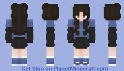 Blueberry E-girl Minecraft Skin