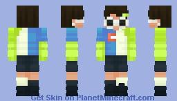 Dream404 (Glasses On) Minecraft Skin
