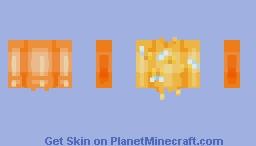 Honey Drips Sweater Minecraft Skin