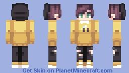 Sweet Like Honey Minecraft Skin