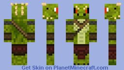 Dragon-Man Minecraft Skin