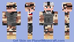 ★US Army Soldier - Desert BDU★ Minecraft Skin