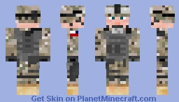 ★US Army Soldier - Multicam★ Minecraft Skin