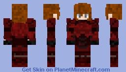 Ray - The Amazing Warrior Minecraft Skin
