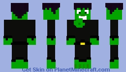 Bat-Hulk for my Friend Minecraft Skin
