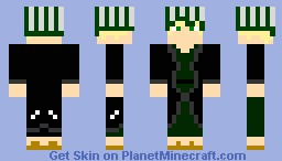 Shady Merchant (Urahara, from bleach) Minecraft Skin