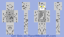 Urinal Man Minecraft Skin