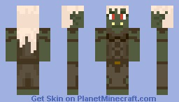 Orc Girl (VIEW 3D) Minecraft Skin