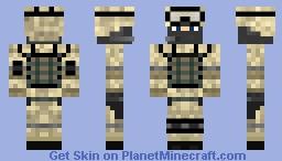 US Desert Soldier Minecraft Skin