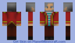 Old Explorer Minecraft Skin